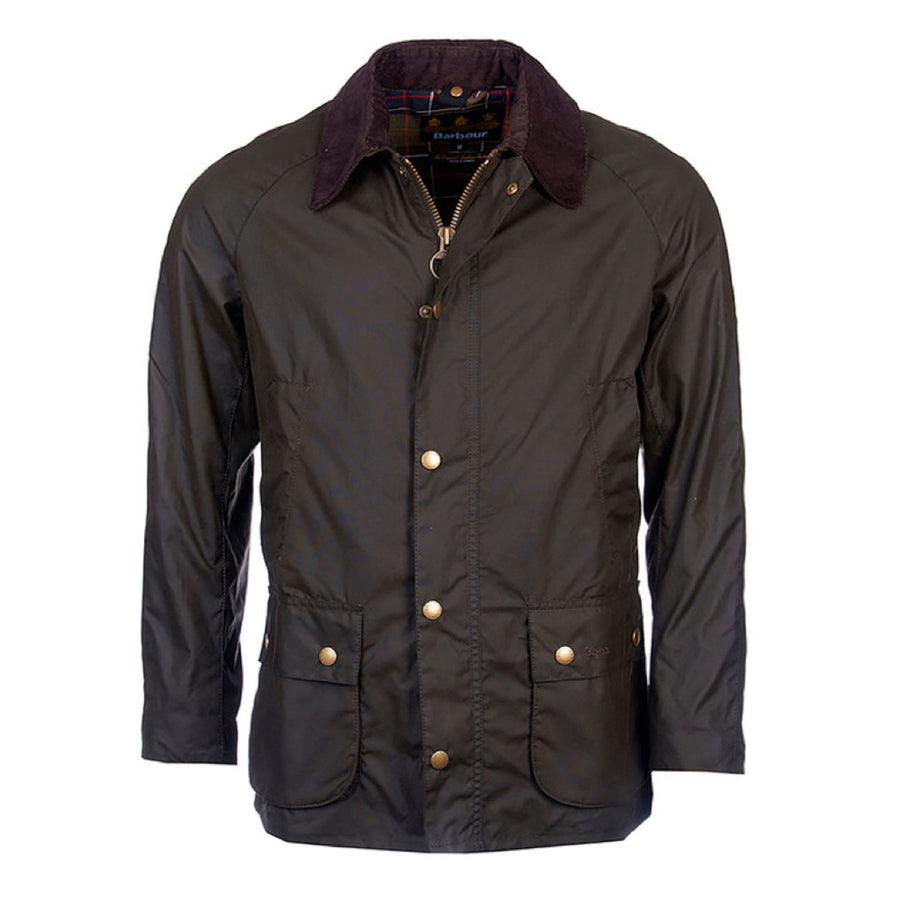 Barbour Men's Ashby Waxed Jacket Olive