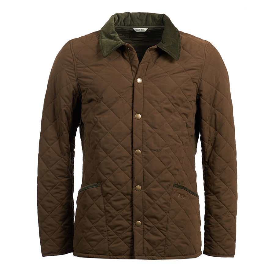 Barbour Men's Bridle Quilted Jacket Dark Sand