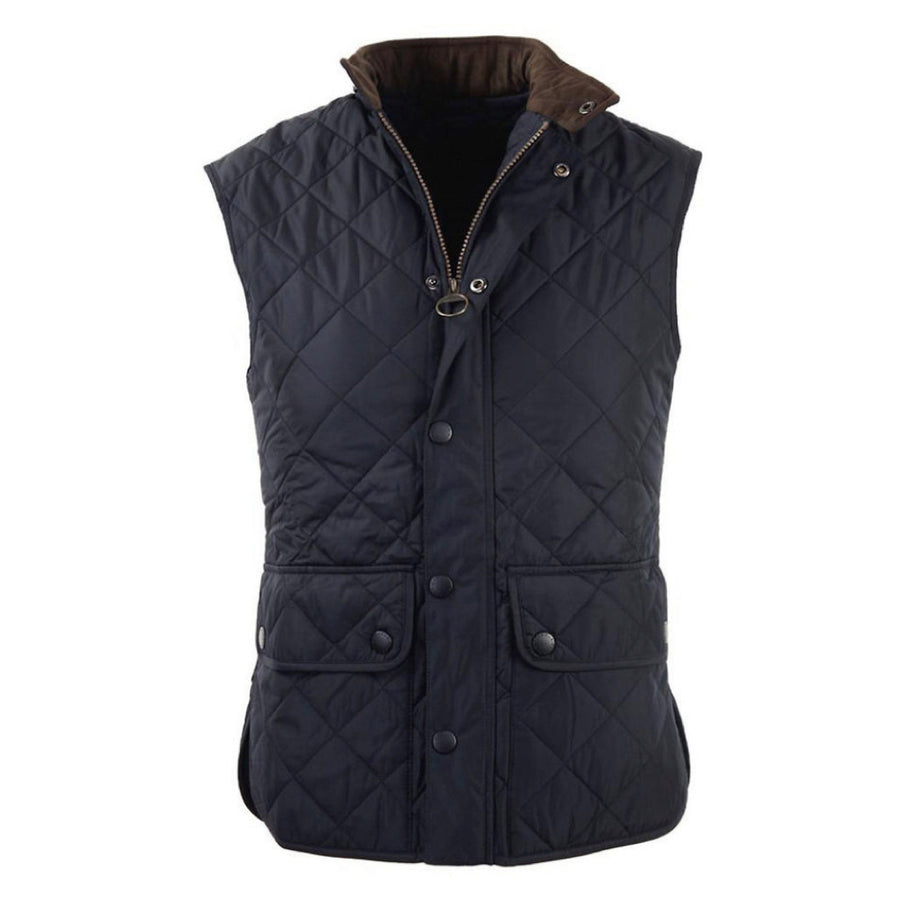 Barbour Men's Lowerdale Quilted Gilet Dark Green