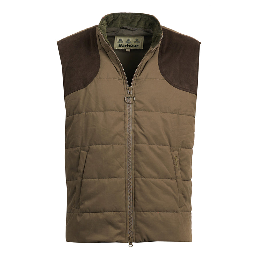 Barbour Men's Ludlow Quilted Gilet Clay