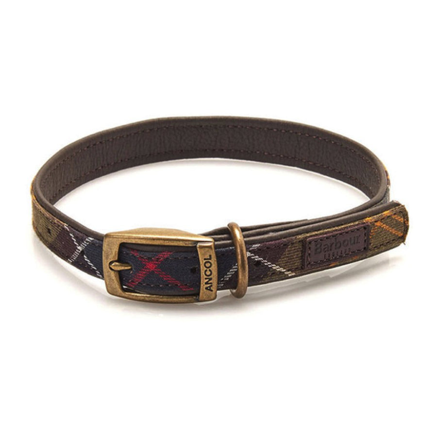 Barbour Tartan Dog Collar