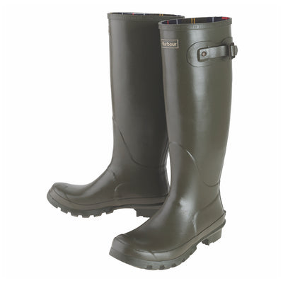 Barbour Women's Bede Tall Rain Boot Olive
