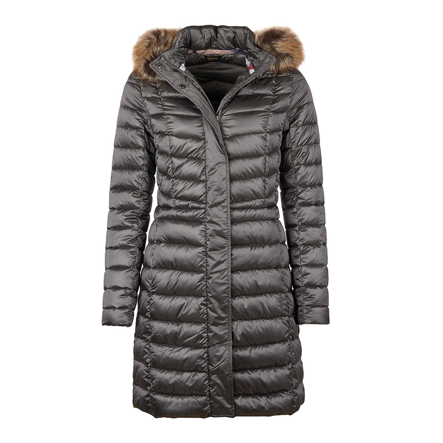 Barbour Women's Berneray Quilted Long Jacket