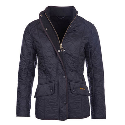 Barbour Women's Cavalry Polarquilt Jacket Black