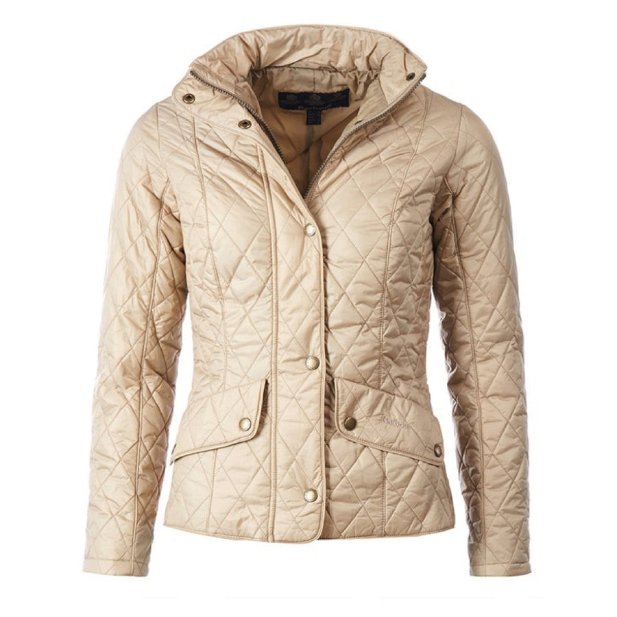 Barbour Women's Flyweight Cavalry Quilted Jacket Pale Sage