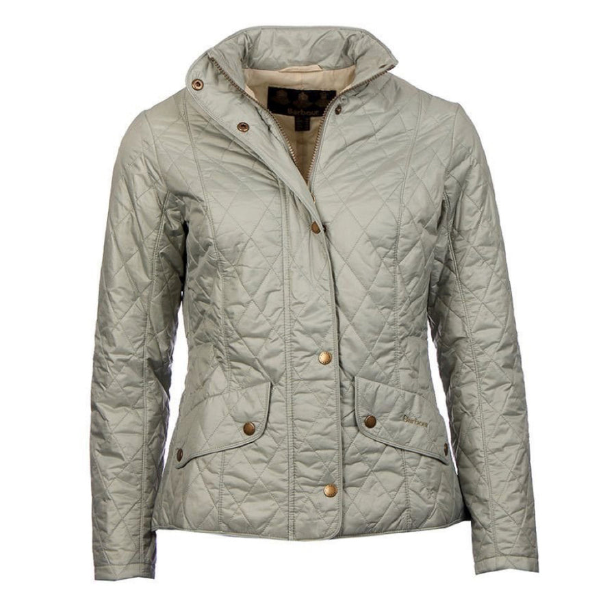 Barbour Women's Flyweight Cavalry Quilted Jacket Taupe