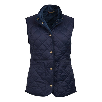 Barbour Women's Jasmine Quilted Gilet Navy