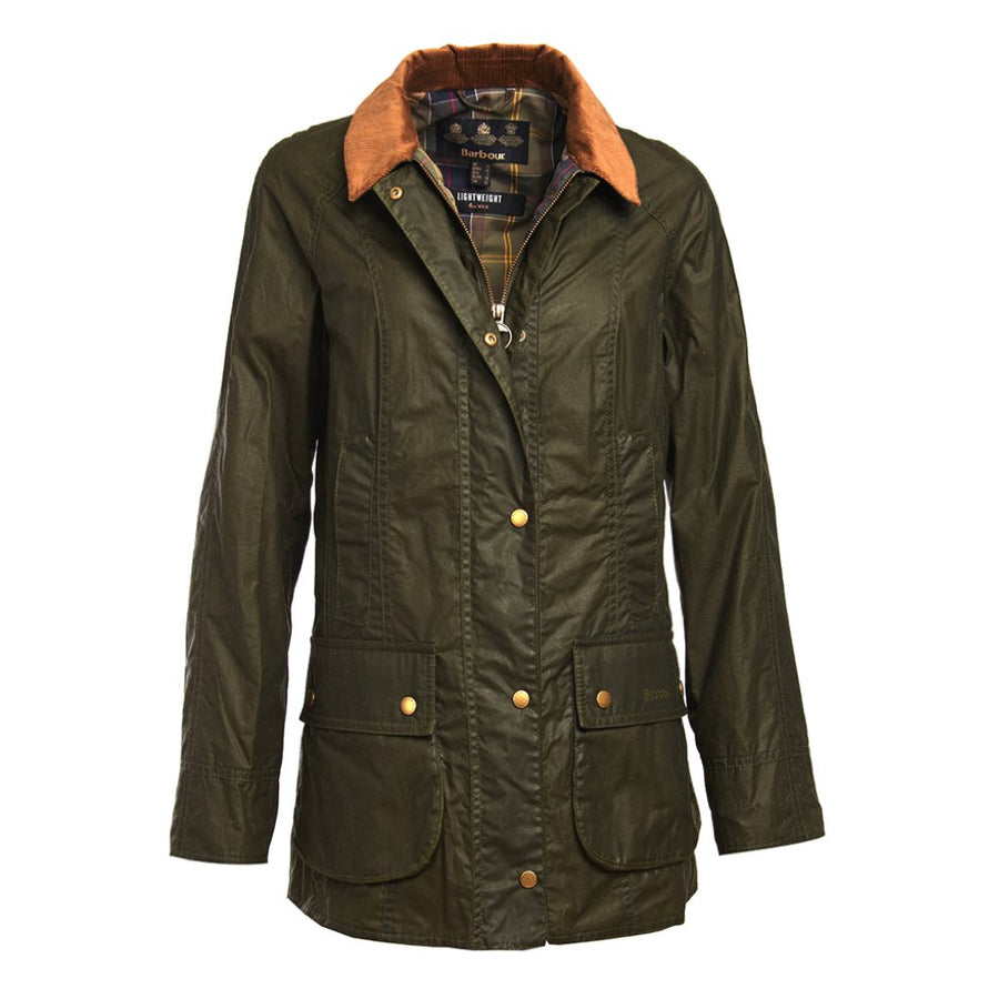 Barbour Women's Lightweight Beadnell Waxed Jacket
