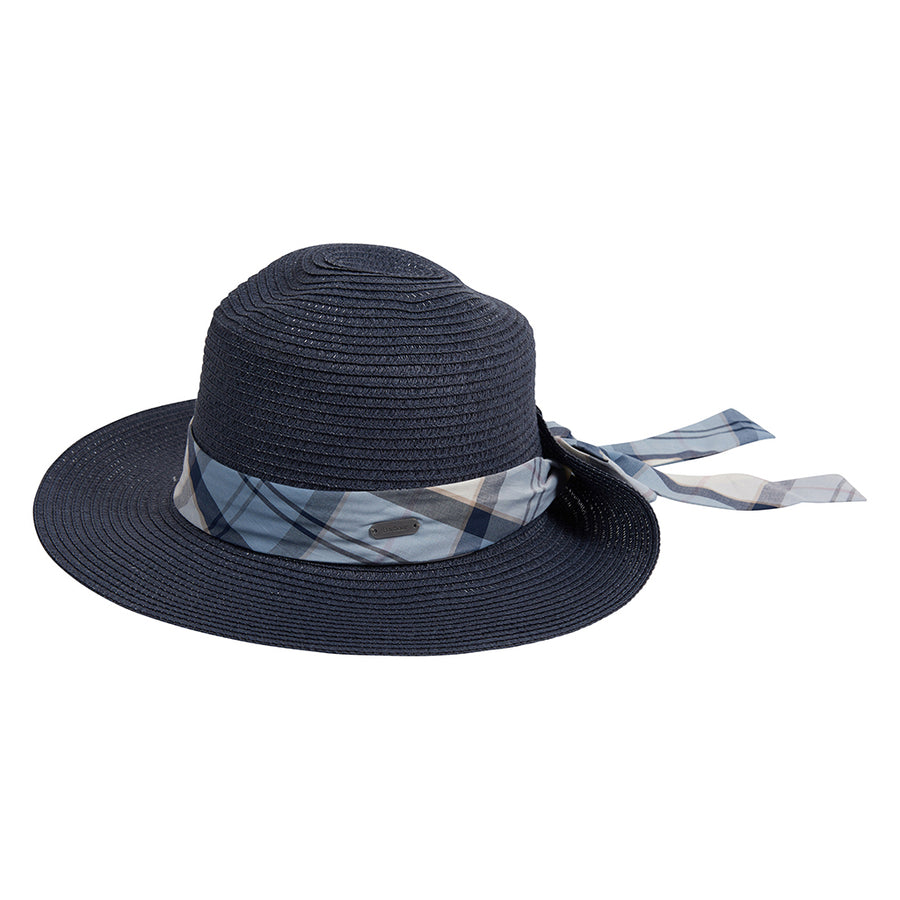 Barbour Women's Lorne Tartan Trim Fedora