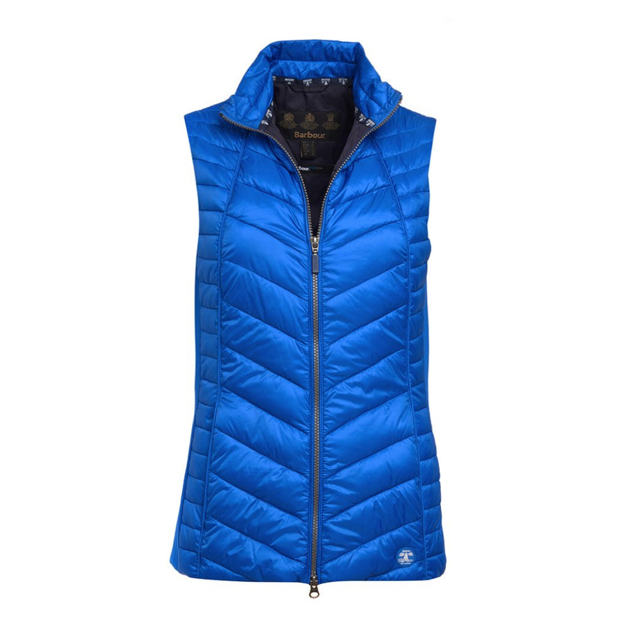Barbour Women's Penhale Quilted Gilet Signal Orange