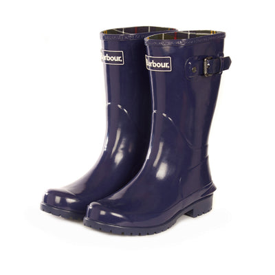Barbour Women's Primrose Rain Boot Blue