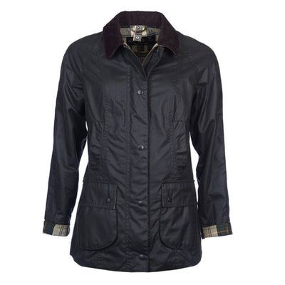 Barbour Women's Beadnell Waxed Jacket Sage