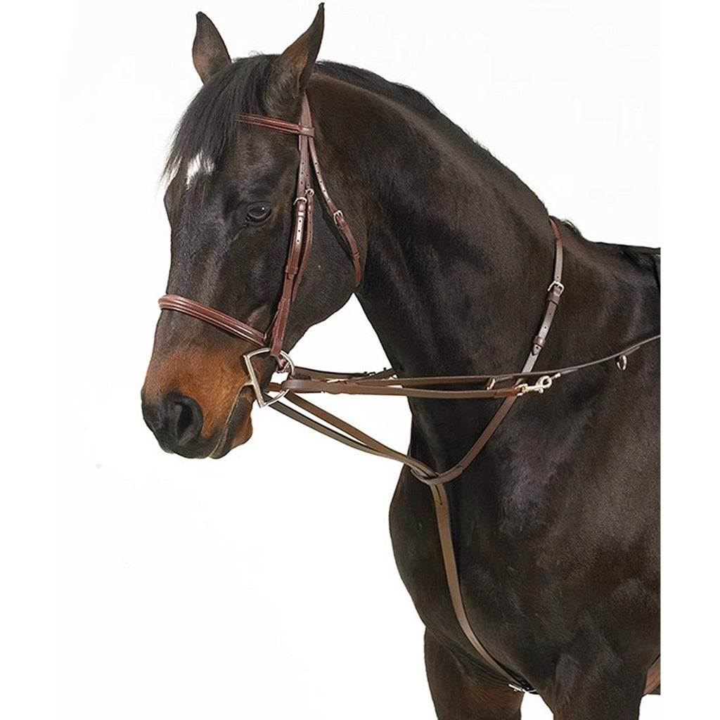Tory Leather Tory Harness Leather German Martingale Buckle Rein