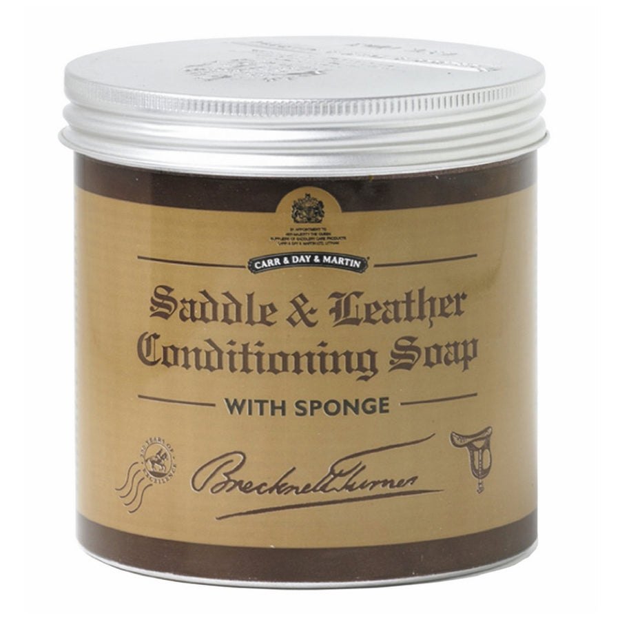 Carr & Day & Martin Saddle and Leather Conditioning Soap with Sponge