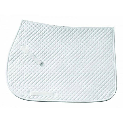 Centaur Cotton Circuit Jumping Square Pad White