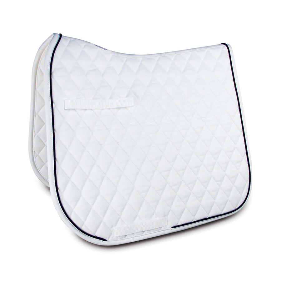Classics III Dressage Square Pad White with Black