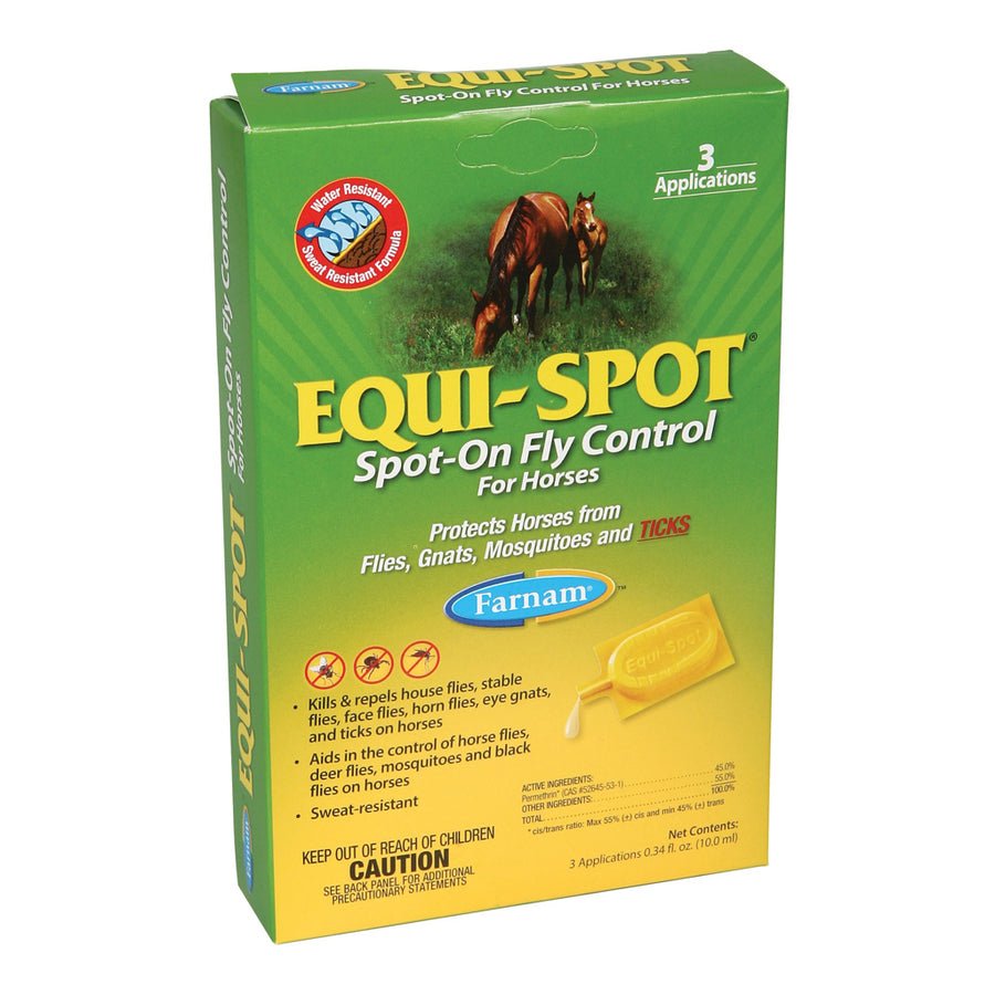 Equi-Spot Fly and Tick Control