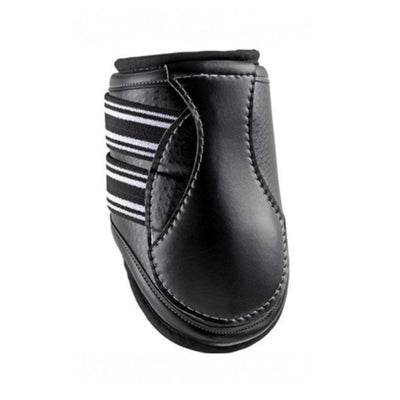 EquiFit D-TEQ Hind Tendon Boot Black Ostrich