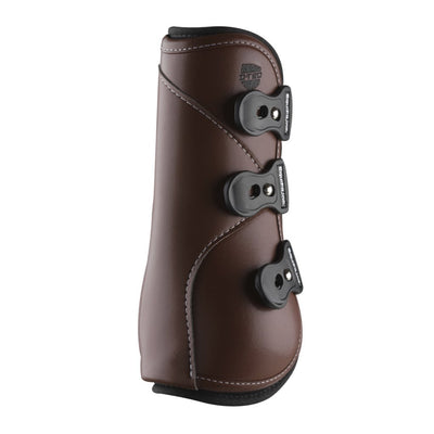 EquiFit D-TEQ Open Front Tendon Boot Brown