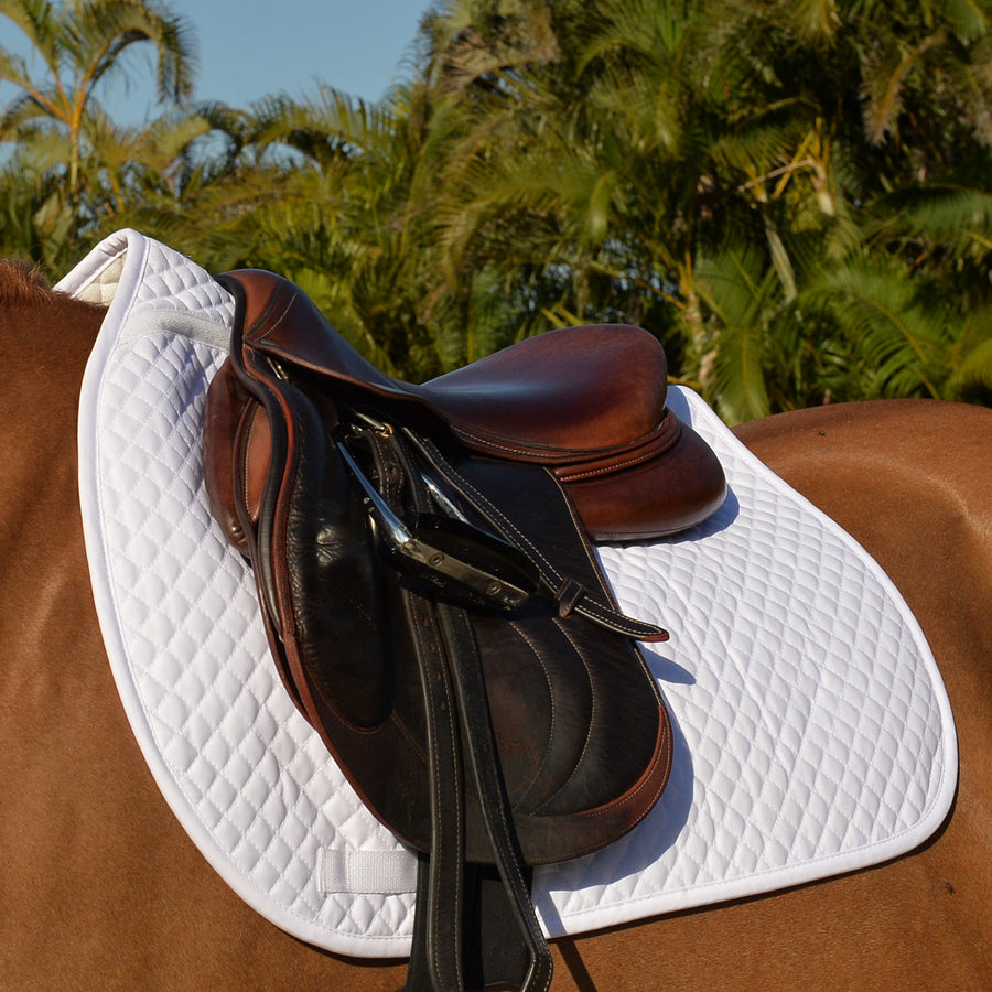 EquiFit Essential All Purpose Square Pad White