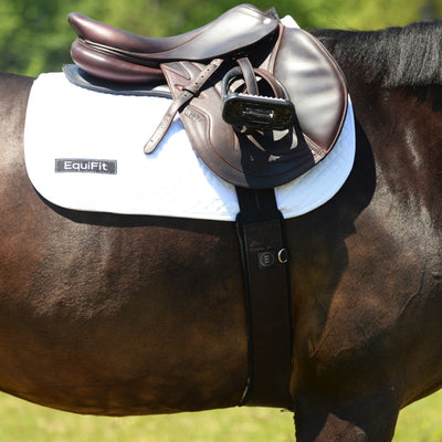 EquiFit Essential Schooling Girth on Horse