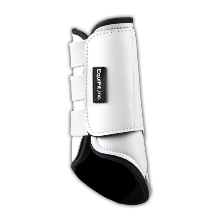 EquiFit MultiTeq Front Tendon Boot Black