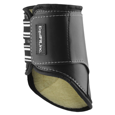 EquiFit SheepsWool MultiTeq Hind Tendon Boot Black