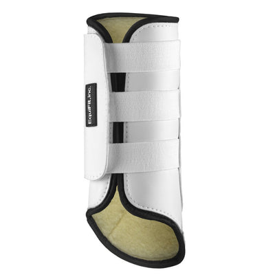 EquiFit SheepsWool MultiTeq Tall Hind Tendon Boot White
