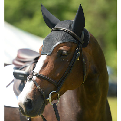 EquiFit SilentFit Ear Bonnet Black