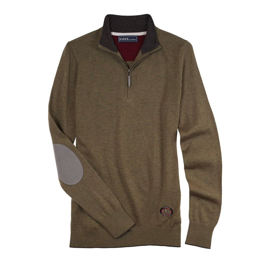 Essex Trey Zip Neck Sweater