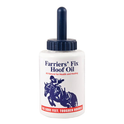 Farriers' Fix Hoof Oil 16 oz with Brush
