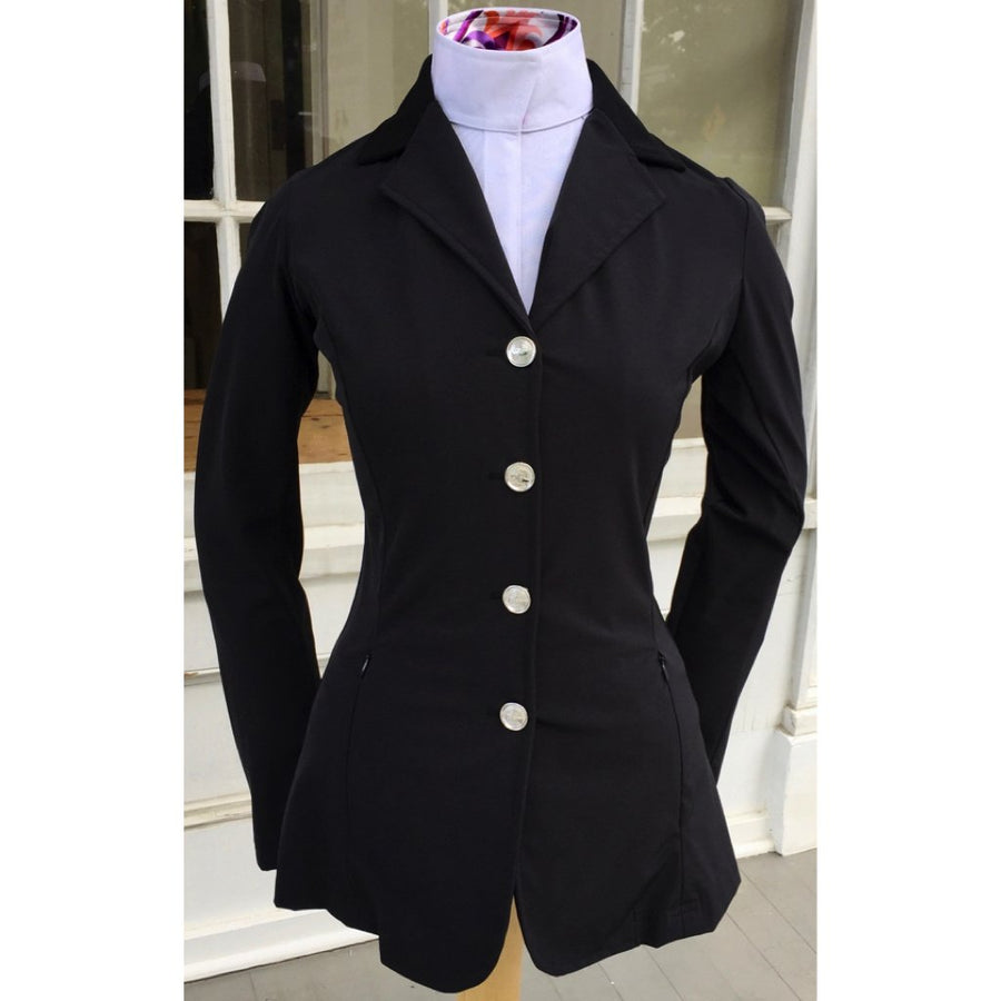 Grand Prix Rylie 4-Button Show Coat