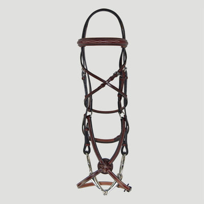 Hadfield's Raised Fancy Stitched Padded Figure 8 Jumper Bridle