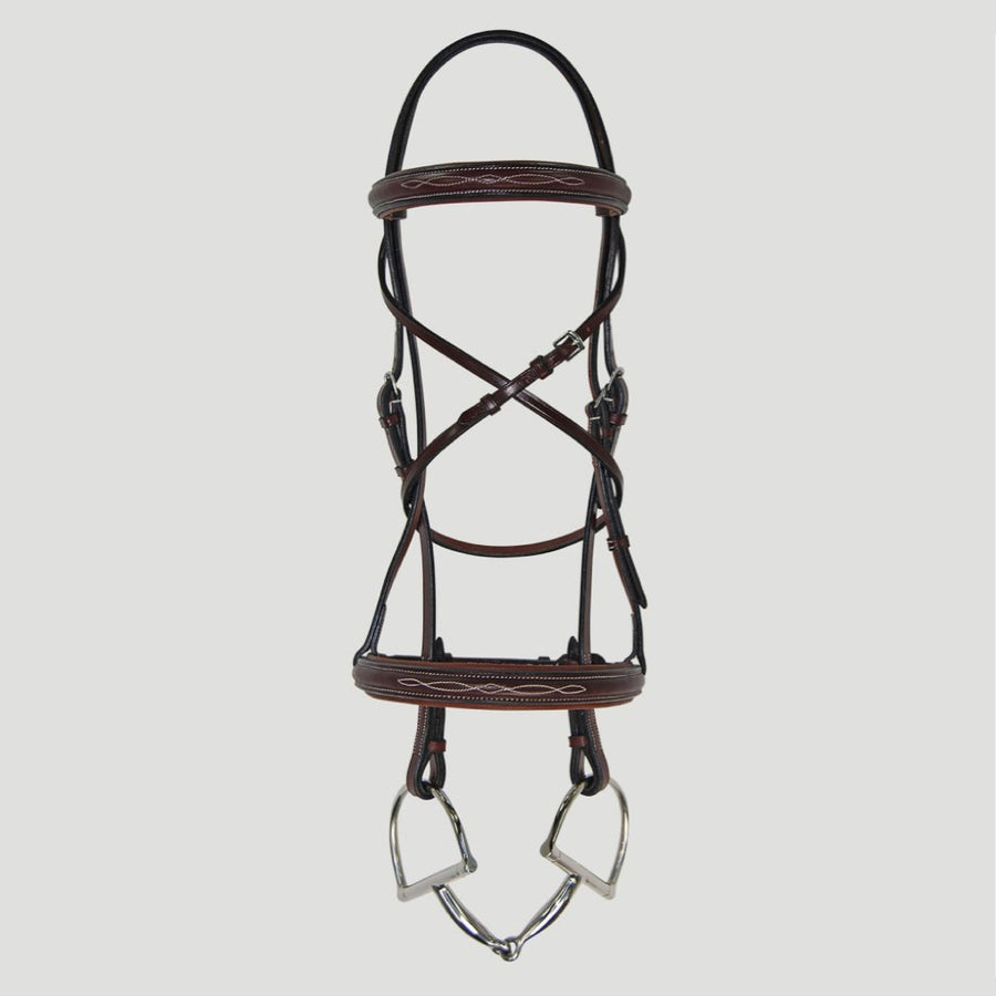 Hadfield's Raised Fancy Stitched Padded Bridle