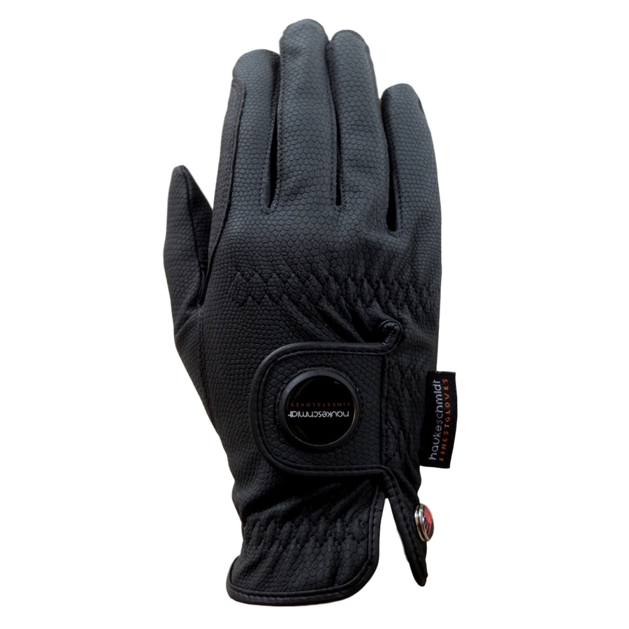 Hauke Schmidt Nordic Dream Winter Riding Gloves Black