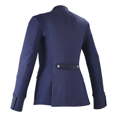 Horse Pilot Women's Air Motion Airbag Compatible Show Coat Navy Back