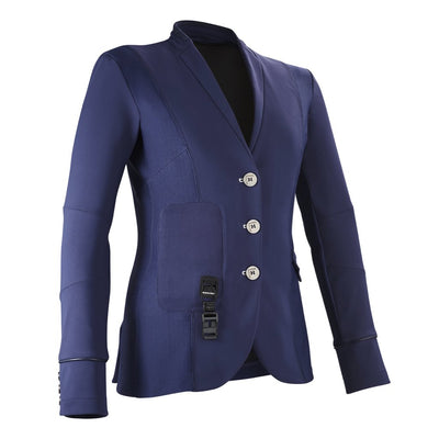 Horse Pilot Women's Air Motion Airbag Compatible Show Coat Navy Front