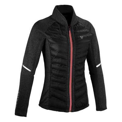 Horse Pilot Women's Storm Quilted Jacket Grey Front