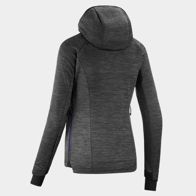 Horse Pilot Women's Tempest Fleece Jacket Grey Back