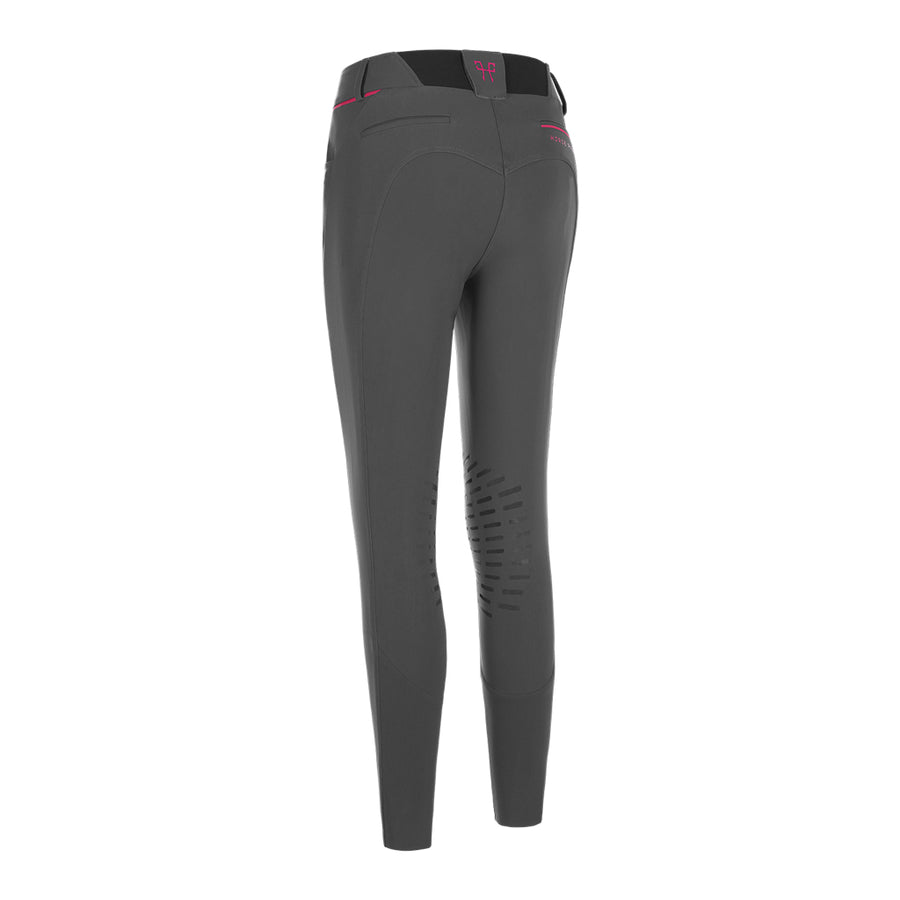 Horse Pilot Women's X-Design Grip Breech Grey