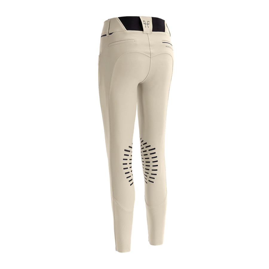 Horse Pilot Women's X-Design Grip Breech Hunter Tan