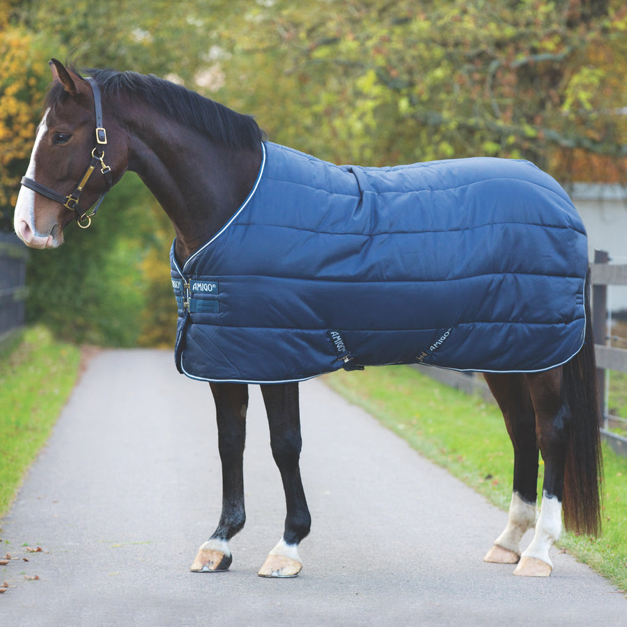 Horseware Amigo Insulator Heavy Stable Blanket Navy with White