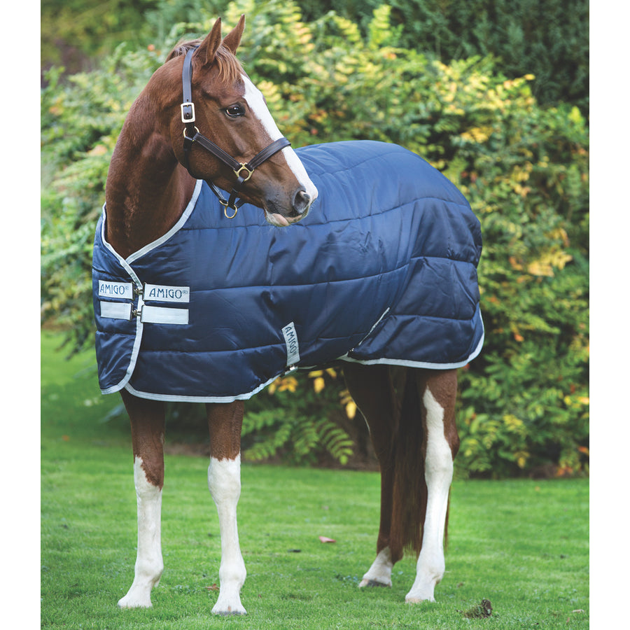 Horseware Amigo Insulator Medium Stable Blanket Navy with Silver