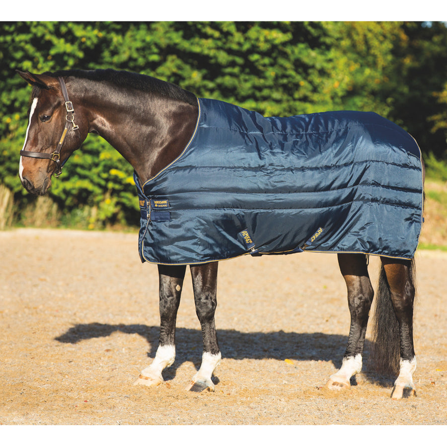Horseware Amigo XL Insulator Medium Stable Blanket Navy with Gold