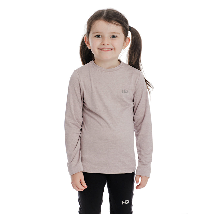 Horseware Kid's Tech Crew Neck Long Sleeve Base Layer