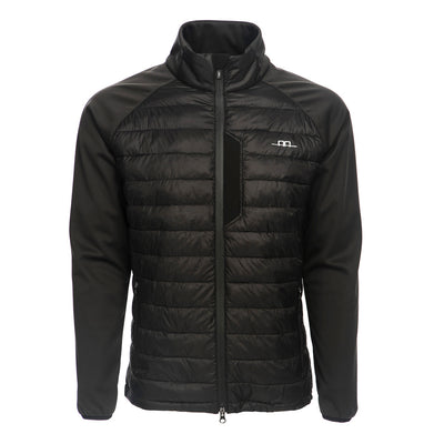 Horseware Men's AA Gubbio Padded Fleece Jacket Black