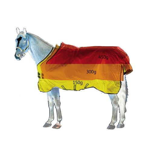 Rambo Supreme Heavy Turnout Blanket with Vari-Layer (450g)