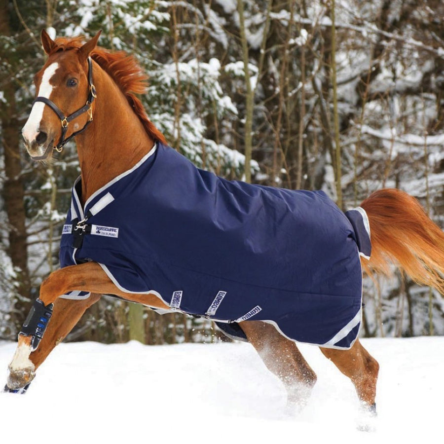Horseware Rambo Original Medium Turnout Blanket Navy with Silver
