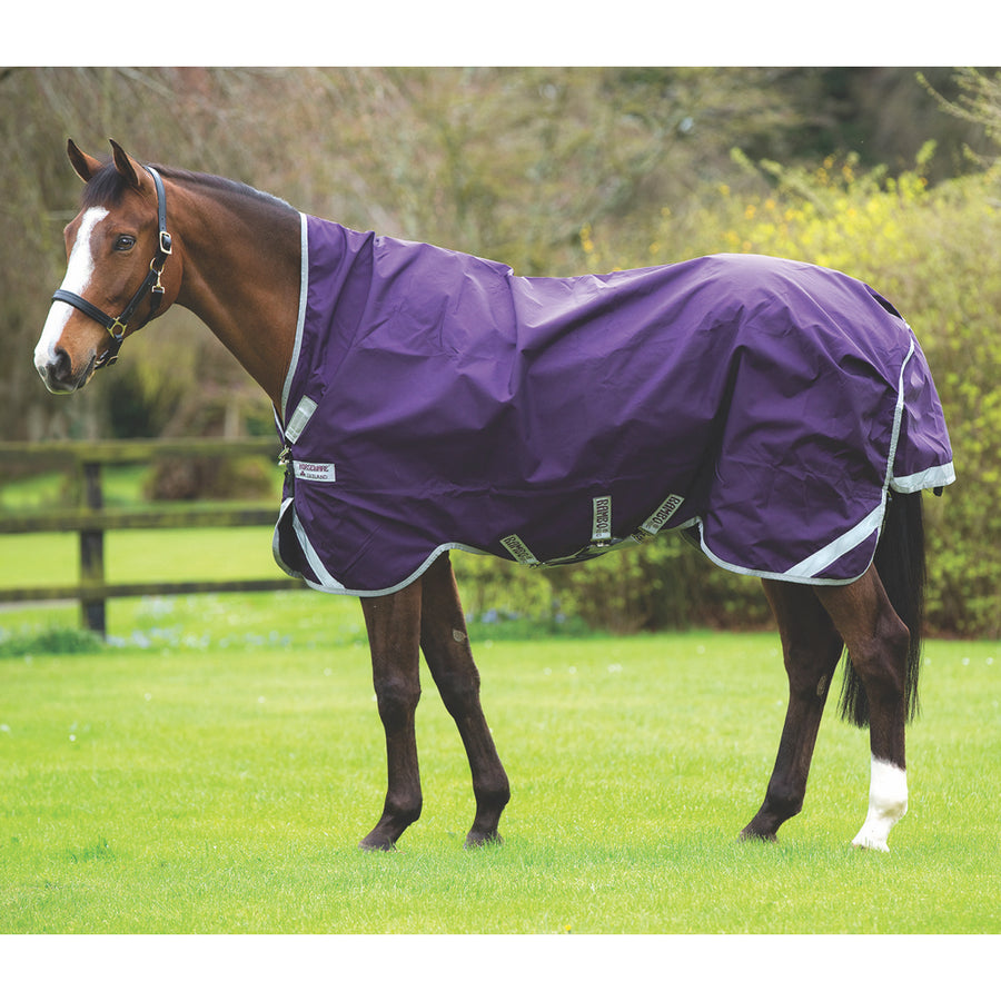 Horseware Rambo Wug Lite Turnout Blanket Purple with Silver