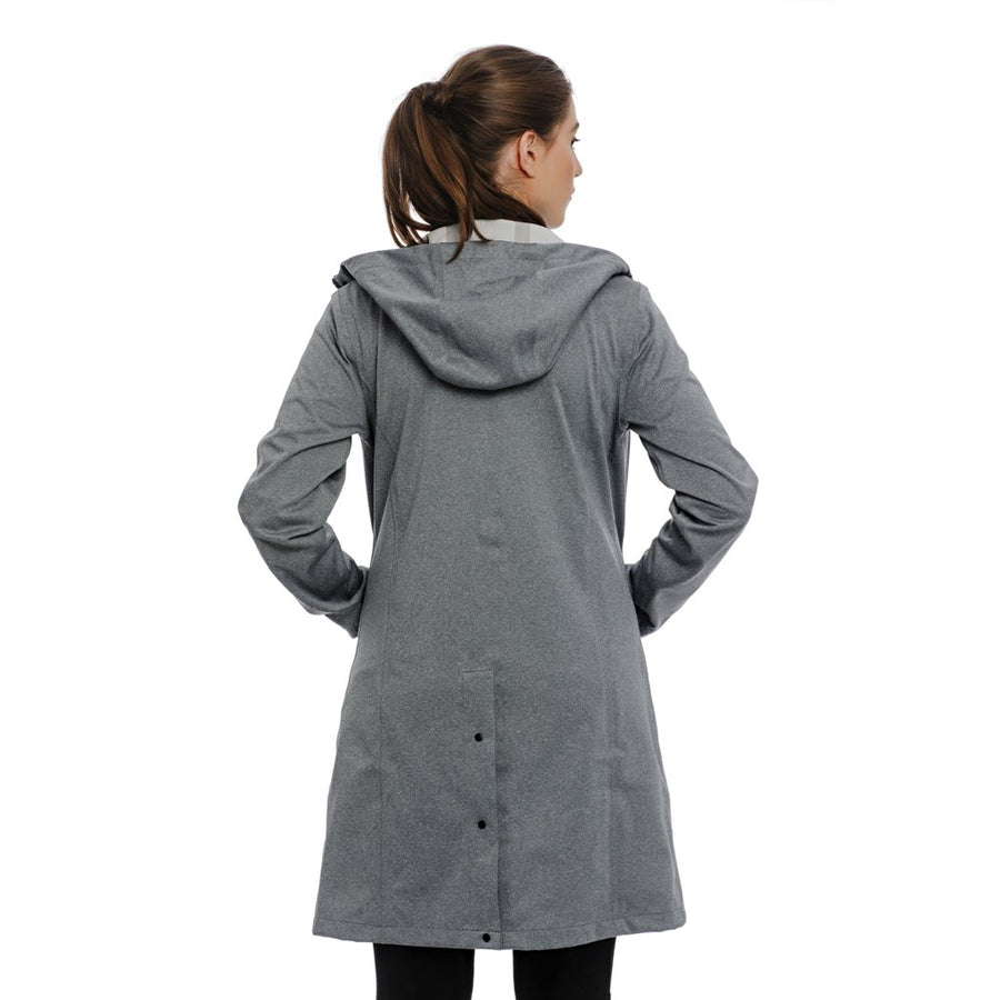 Horseware Women's 3 in 1 Technical Insulated Rain Long Jacket Stone Grey